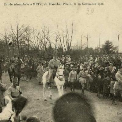 Histoire de la Lorraine 7 (1918 - 1945)