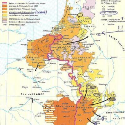 Histoire de la Lorraine 4 (1475 à 1737)