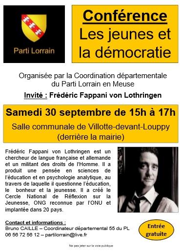 Affiche conference PL FFVL