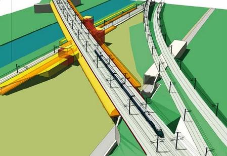 Gare Vandieres simulation 3D