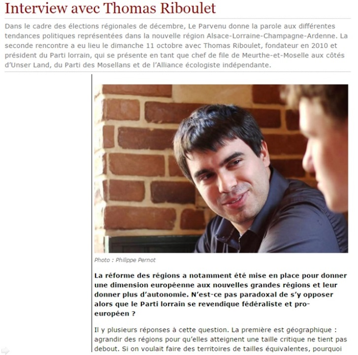 Interview Sciences-PO Nancy