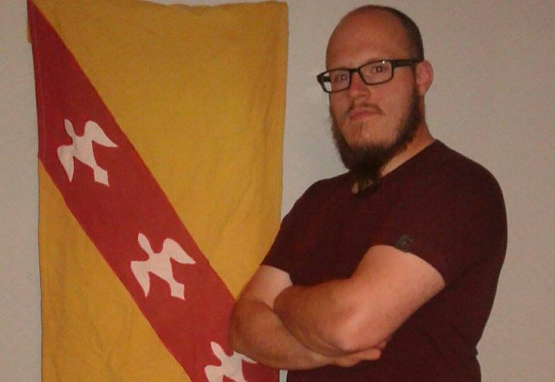 Kevin GIGES drapeau lorrain